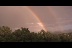 Rainbow - stock footage