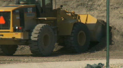 Heavy equipment - stock footage