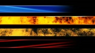 Stock Video Footage of two fire and two abstract lower thirds