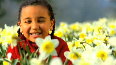 Children & healthy lifestyle Stock Footage