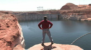 Stock Video Footage of Don Glen Canyon Dam P HD