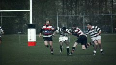 Rugby - stock footage