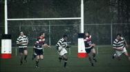Stock Video Footage of Rugby