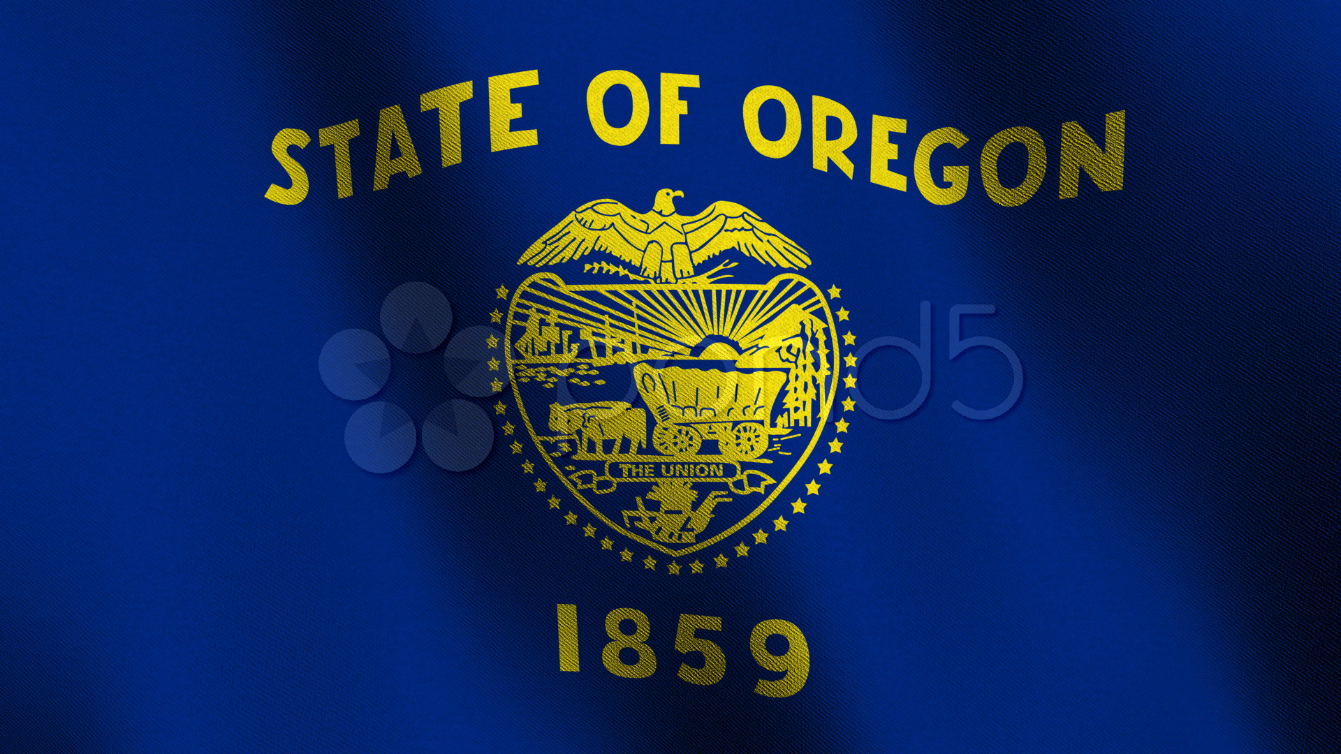 Stock video oregon state flag seamless loop 350359 for Oregon flag coloring page