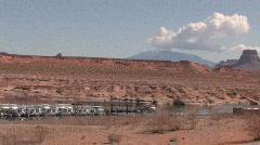 Lake Powell marina Page Arizona P HD Stock Footage