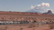 Stock Video Footage of Lake Powell marina Page Arizona P HD