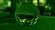 Stock Video Footage of Glass orb or dew,environmental conservation concept,looping