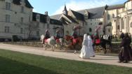 Medieval decor 3 - Shooting movie making of Stock Footage
