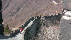 Kite on Great Wall 3 - stock footage