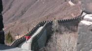 Kite on Great Wall 3 Stock Footage