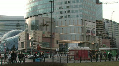 Warsaw - shopping centre  Stock Footage