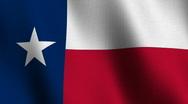 Stock Video Footage of Texas state flag - seamless loop