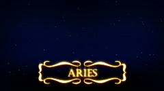 Aries - Plashka - stock footage
