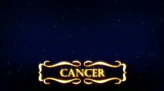 Cancer - Plashka Stock Footage