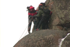 Climbers 14  Stock Footage
