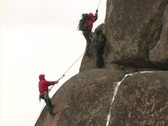 Climbers 16  Stock Footage