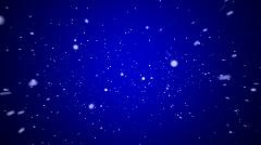 Snowfall Element 04 (24fps) Stock Footage