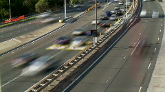 Traffic Time lapse - Busy Road, Cars, Transport, Rush Hour Stock Footage