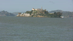 Alcatraz San francisco  Stock Footage