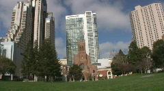 Saint Patrick church San Francisco  Stock Footage