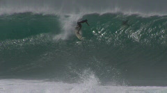 Cabo Verde Surfing 02 Stock Footage