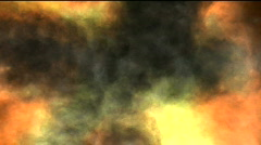 Fire abstract motion background Stock Footage