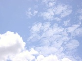 Stock Video Footage of Clouds: High White Clouds SD 720x480