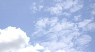 Stock Video Footage of Time Lapse: White Clouds