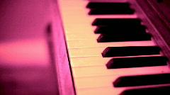 Piano - stock footage