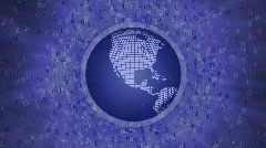 Global Business Finance V2  HD 1080 Loop Stock Footage