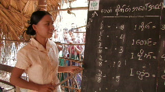 Myanmar: Adult Education Stock Footage
