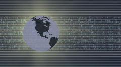 Global Business Finance V3  HD 1080 Loop Stock Footage