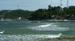 The Popular dive tourist hotspot Sabang in the Philippines  Stock Footage