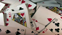 Playing Cards 299 HD720 Stock Footage