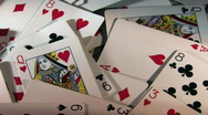 Stock Video Footage of Playing Cards 299 HD720
