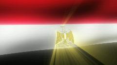 Flag FX - Egypt - HD24p - stock footage