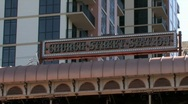 Church Street Station in downtown Orlando Stock Footage