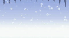 Growing icicles. HD 1080 Stock Footage
