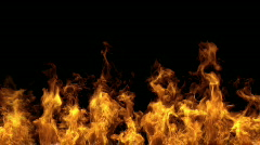 Fire  (Hd, seamless loop) - stock footage