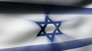Flag FX - Israel 1 - HD24p Stock Footage