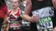 Stock Video Footage of London Marathon
