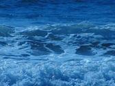 High Speed Camera : Ocean Waves 16 Waves crashing on beach Loop Stock Footage