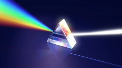 Prism - light dispersion, LOOP Stock Footage