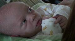 infant , baby, newborn - stock footage