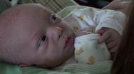 Infant , baby, newborn Stock Footage