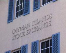 Stock Video Footage of Cayman Islands Stock Exchange & Monetary Authority