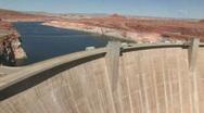 Stock Video Footage of Glen Canyon Dam P HD