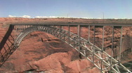 Stock Video Footage of Glen Canyon Bridge P HD