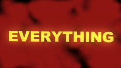 Every thing must go sale animated background loop Stock Footage