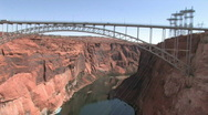 Stock Video Footage of Colorado River from Glen canyon Dam P HD